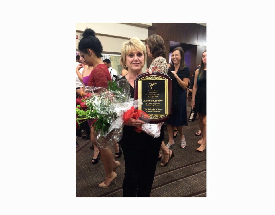 "Dawn Crafton ""TREMAINE TEACHER OF THE YEAR"" '14-'15"