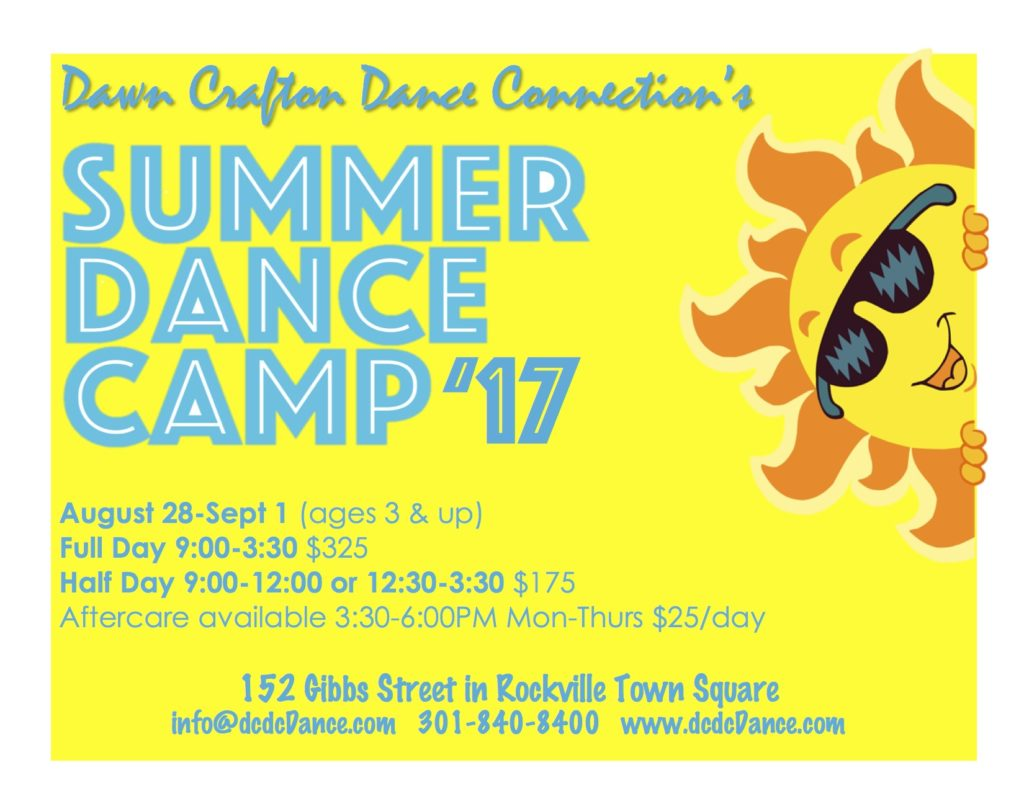 Summer Dance Camp 2017
